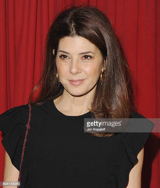 Actress Marisa Tomei arrives at the 16th Annual AFI Awards on January 8 2016 in Los Angeles California