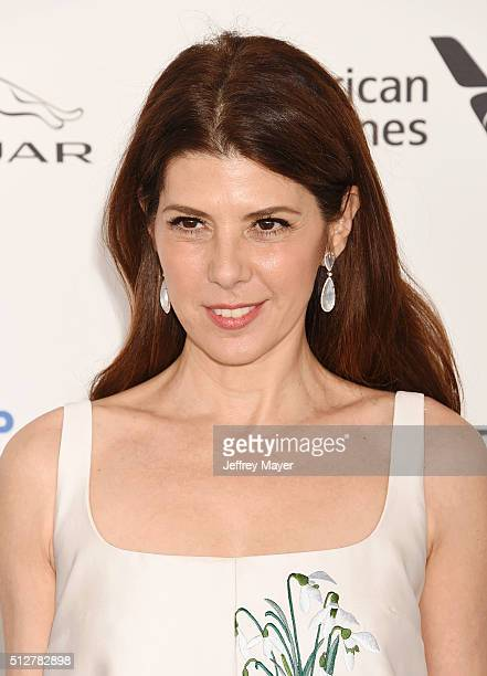 Actress Marisa Tomei arrives at the 2016 Film Independent Spirit Awards on February 27 2016 in Santa Monica California