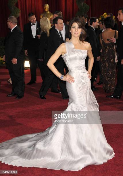 Actress Marisa Tomei arrives at the 81st Annual Academy Awards held at The Kodak Theatre on February 22 2009 in Hollywood California
