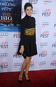 Actress Marisa Tomei arrives at the AFI FEST 2015 Presented By Audi Closing Night Gala Premiere of Paramount Pictures' 'The Big Short' at TCL Chinese...
