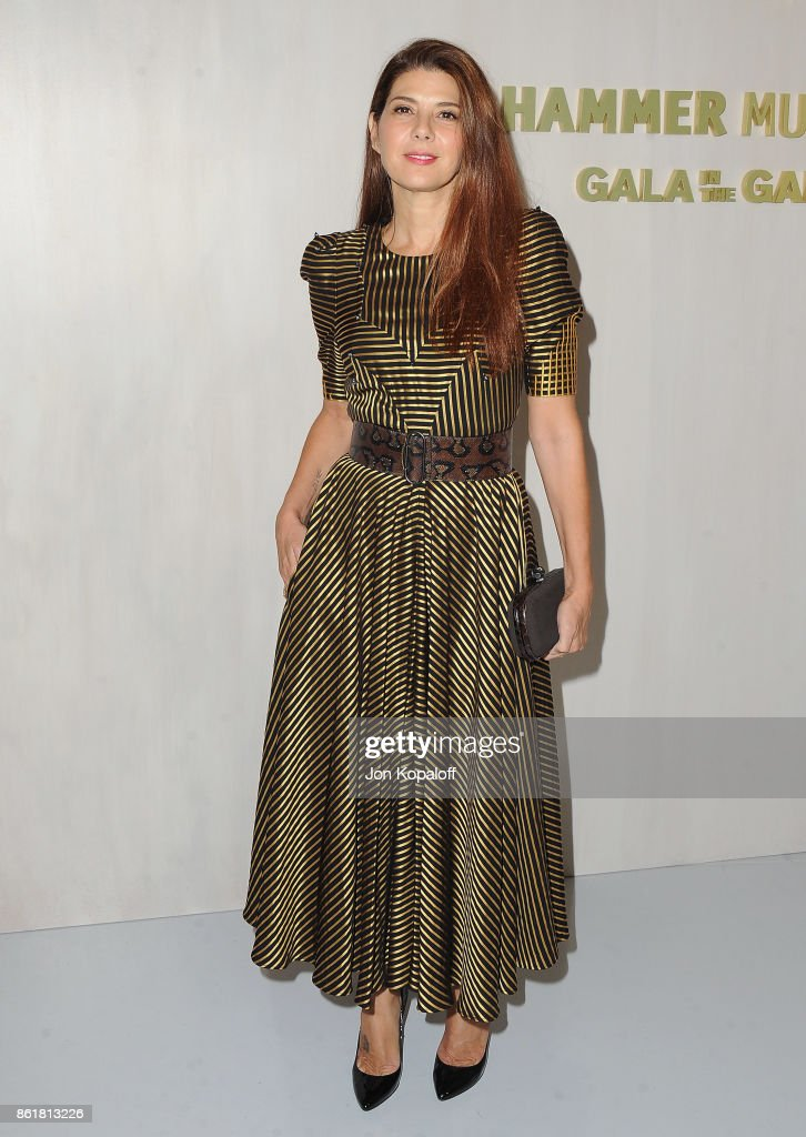 Actress Marisa Tomei arrives at the Hammer Museum Gala In The Garden at Hammer Museum on October 14, 2017 in Westwood, California.