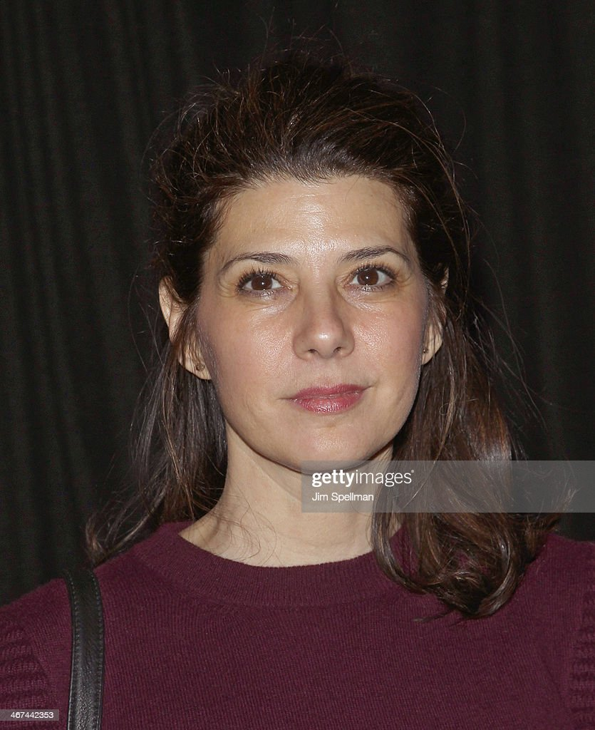 Actress Marisa Tomei attends the 2014 BAM Theater gala at Skylight One Hanson on February 6, 2014 in the Brooklyn borough of New York City.