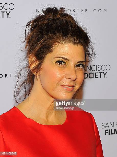 Actress Marisa Tomei attends the Film Society Awards at the 58th San Francisco International Film Festival at The Armory on April 27 2015 in San...