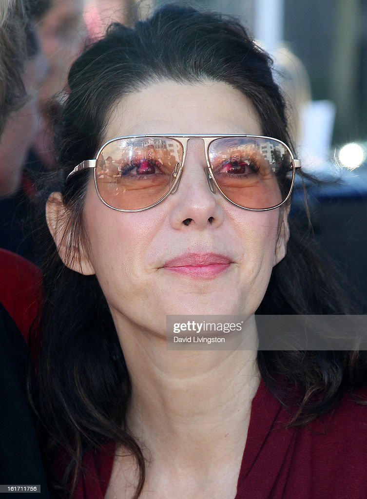 Actress Marisa Tomei attends the kick-off for One Billion Rising in West Hollywood on February 14, 2013 in West Hollywood, California.