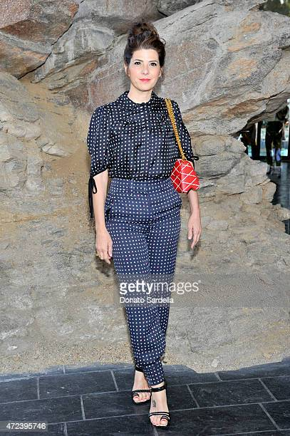 Actress Marisa Tomei attends the Louis Vuitton Cruise 2016 Resort Collection shown at a private residence on May 6 2015 in Palm Springs California