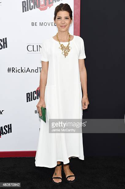 Actress Marisa Tomei attends the New York premier of 'Ricki And The Flash' at AMC Lincoln Square Theater on August 3 2015 in New York City