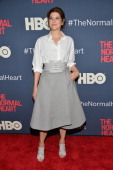 Actress Marisa Tomei attends the New York premiere of 'The Normal Heart' at Ziegfeld Theater on May 12 2014 in New York City