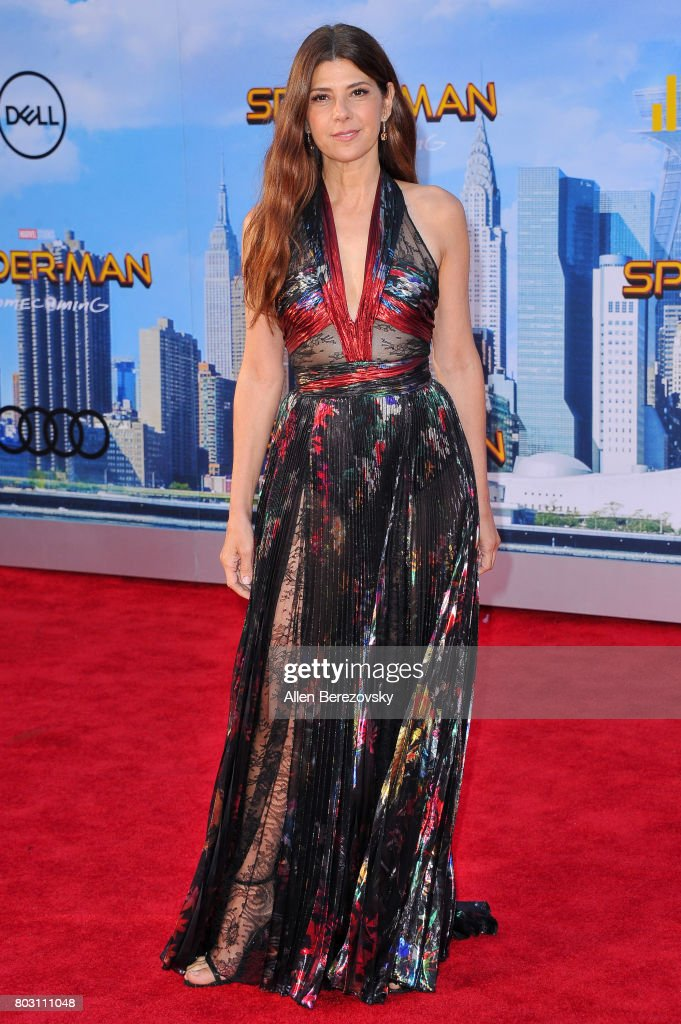 Actress Marisa Tomei attends the premiere of Columbia Pictures' 'Spider-Man: Homecoming' at TCL Chinese Theatre on June 28, 2017 in Hollywood, California.