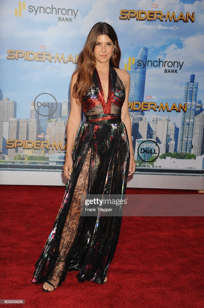 Actress Marisa Tomei attends the premiere of Columbia Pictures' 'Spider-Man: Homecoming' held at TCL Chinese Theatre on June 28, 2017 in Hollywood, California.