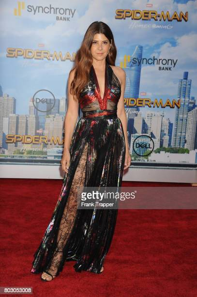 Actress Marisa Tomei attends the premiere of Columbia Pictures' 'SpiderMan Homecoming' held at TCL Chinese Theatre on June 28 2017 in Hollywood...