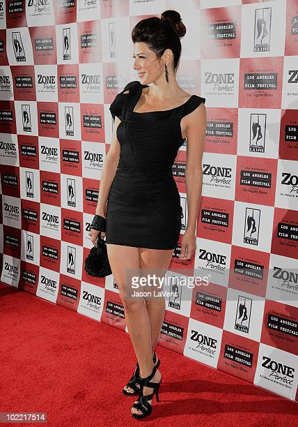 Actress Marisa Tomei attends the premiere of 'Cyrus' at Regal 14 at LA Live Downtown on June 18 2010 in Los Angeles California