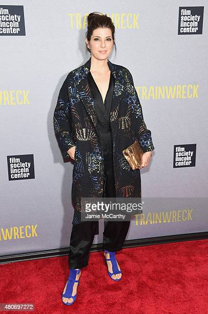 Actress Marisa Tomei attends the 'Trainwreck' New York Premiere at Alice Tully Hall on July 14 2015 in New York City
