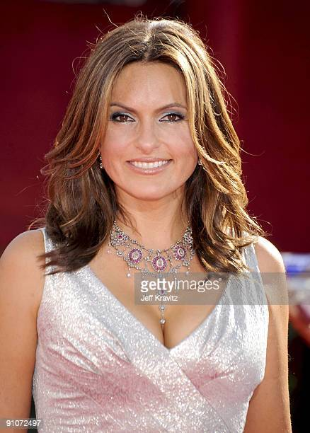 Actress Mariska Hargitay arrives at the 61st Primetime Emmy Awards held at the Nokia Theatre on September 20 2009 in Los Angeles California