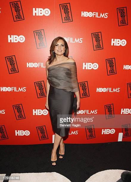 Actress Mariska Hargitay attends HBO's 'Too Big to Fail' premiere at The Museum of Modern Art on May 16 2011 in New York City