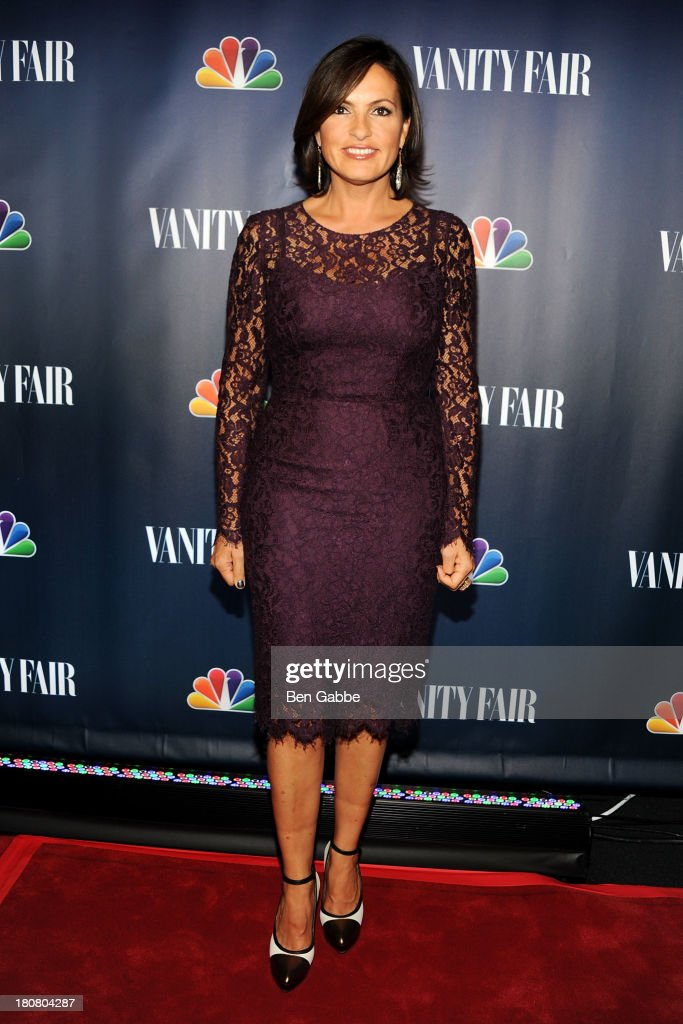Actress <a gi-track='captionPersonalityLinkClicked' href=/galleries/search?phrase=Mariska+Hargitay&family=editorial&specificpeople=204727 ng-click='$event.stopPropagation()'>Mariska Hargitay</a> attends NBC's 2013 Fall Launch Party Hosted By Vanity Fair at The Standard Hotel on September 16, 2013 in New York City.