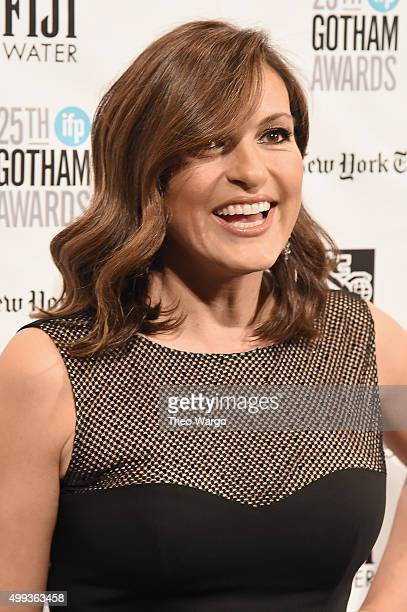 Actress Mariska Hargitay attends the 25th Annual Gotham Independent Film Awards at Cipriani Wall Street on November 30 2015 in New York City