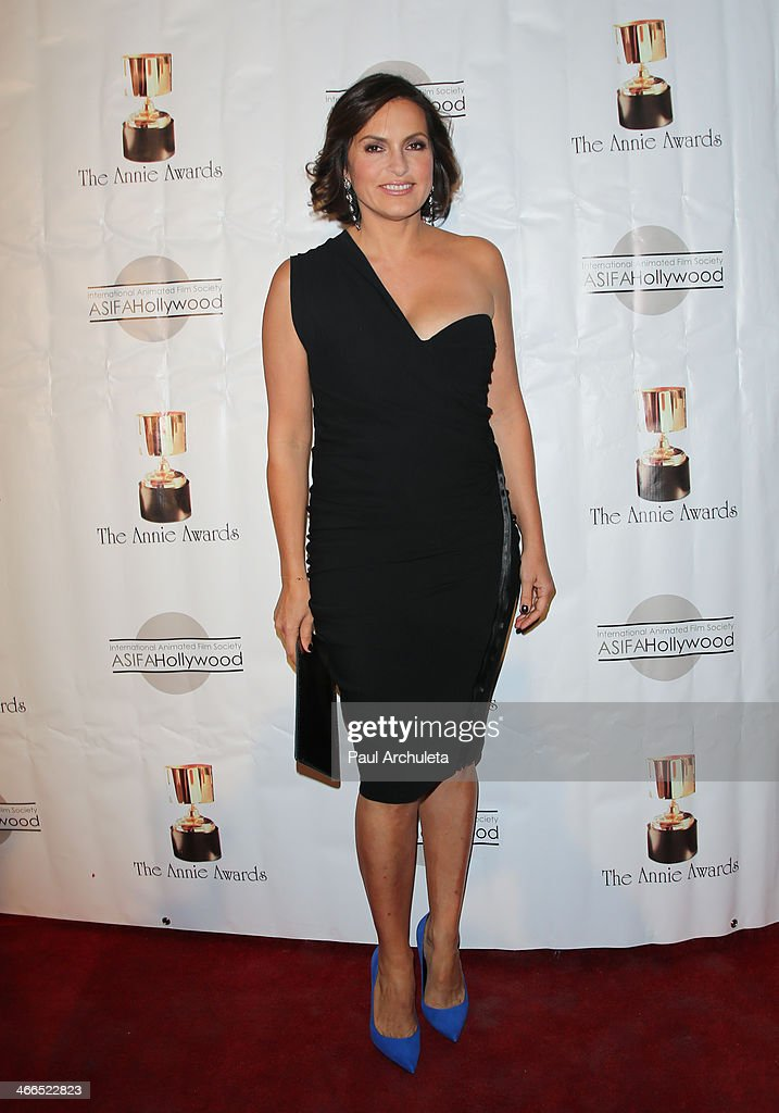 Actress Mariska Hargitay attends the 41st annual Annie Awards at Royce Hall, UCLA on February 1, 2014 in Westwood, California.