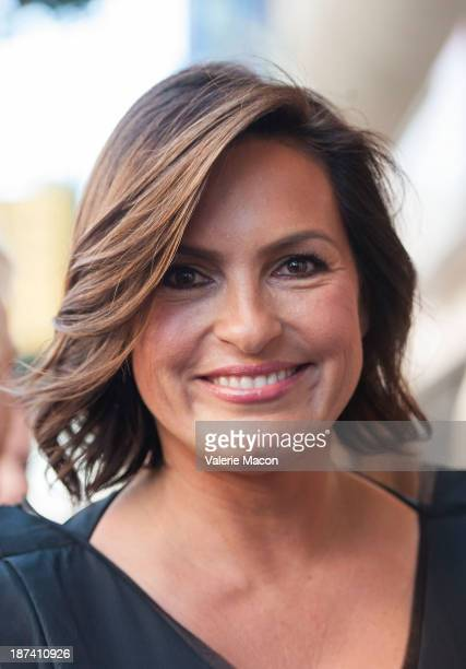 Actress Mariska Hargitay attends the ceremony honoring her with a Star on The Hollywood Walk of Fame on November 8 2013 in Hollywood California