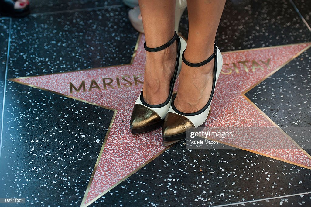 Actress Mariska Hargitay attends the ceremony honoring her with a Star on The Hollywood Walk of Fame on November 8, 2013 in Hollywood, California.