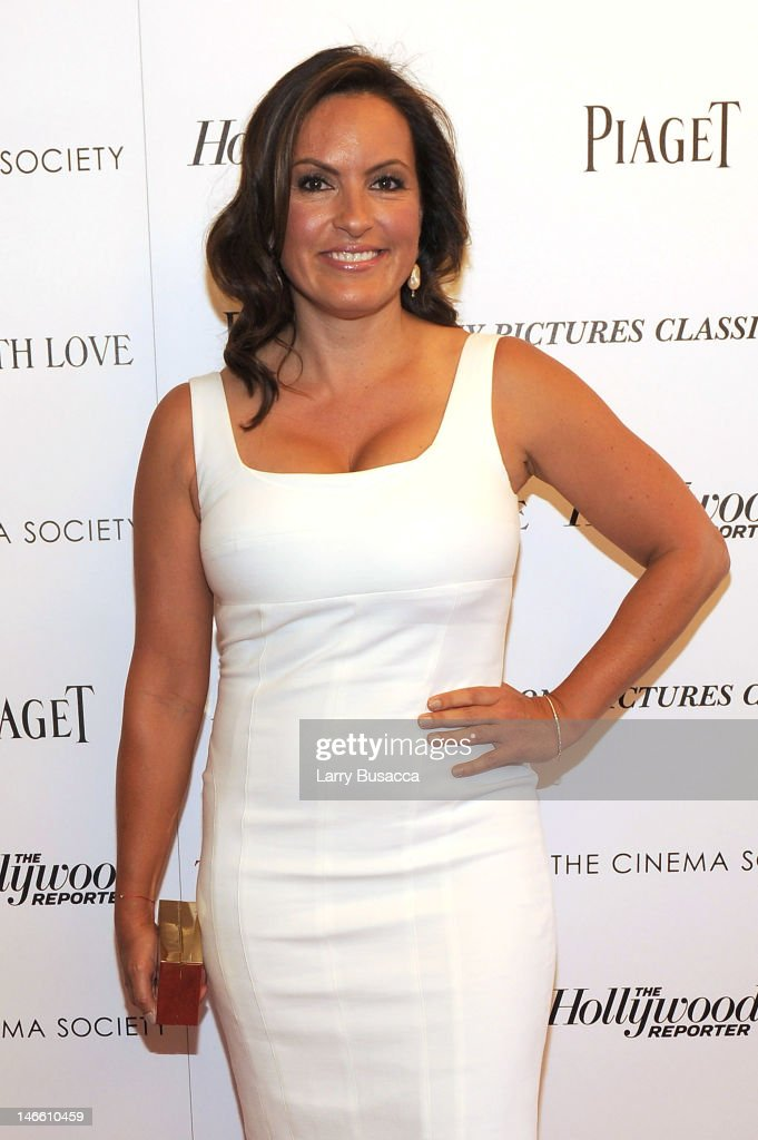 Actress Mariska Hargitay attends the Cinema Society with The Hollywood Reporter & Piaget and Disaronno special screening of 'To Rome With Love' at the Paris Theatre on June 20, 2012 in New York City.