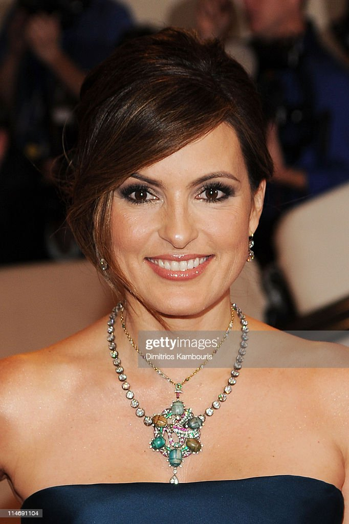 Actress Mariska Hargitay attends the Costume Institute Gala Benefit to celebrate the opening of the 'American Woman: Fashioning a National Identity' exhibition at The Metropolitan Museum of Art on May 3, 2010 in New York City.