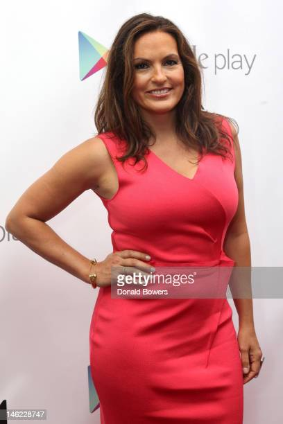 Actress Mariska Hargitay attends the New York Premiere Of IceT's Directorial Debut Film 'Something From Nothing The Art Of Rap' on June 12 2012 in...