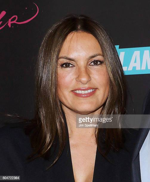 Actress Mariska Hargitay attends the 'Younger' season 2 and 'Teachers' series premiere at The NoMad Hotel on January 12 2016 in New York City
