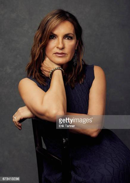 Actress Mariska Hargitay from 'I Am Evidence' poses at the 2017 Tribeca Film Festival portrait studio on on April 24 2017 in New York City