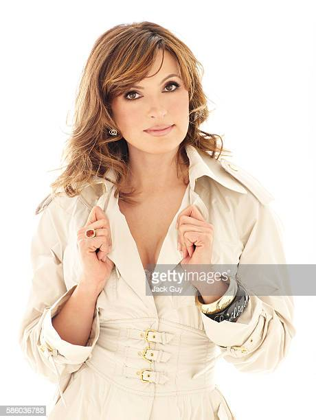 Actress Mariska Hargitay is photographed for Gotham Magazine in 2007 in New York City COVER IMAGE