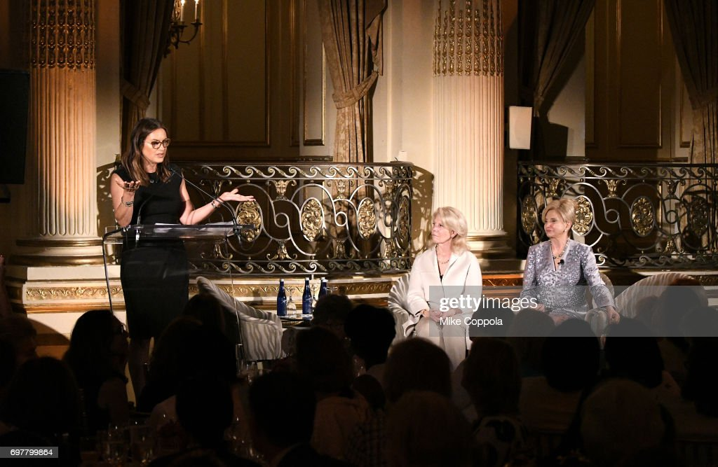 Actress Mariska Hargitay presents an award onstage at The 7th Annual Elly Awards at The Plaza Hotel on June 19, 2017 in New York City.