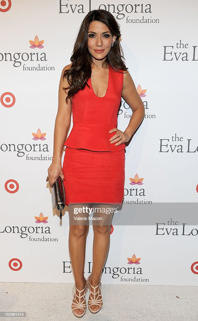 Actress Marisol Nichols arrives at The Eva Longoria Foundation's Pre-ALMA Awards Dinner Presented By Target on September 15, 2012 in Los Angeles, California.