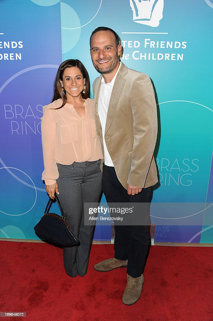 Actress Marissa Jaret Winokour and husband Judah Miller arrive at the United Friends of the Children Brass Ring Awards Dinner 2013 at The Beverly Hilton Hotel on May 29, 2013 in Beverly Hills, California.
