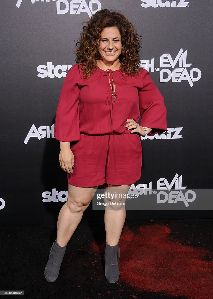 Actress Marissa Jaret Winokur arrives at the premiere of STARZ's 'Ash Vs Evil Dead' at TCL Chinese Theatre on October 28, 2015 in Hollywood, California.