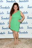 Actress Marissa Jaret Winokur attends the Gala Dinner and Awards during Day Three of the Sandals Emerald Bay Celebrity Getaway and Golf Weekend on...