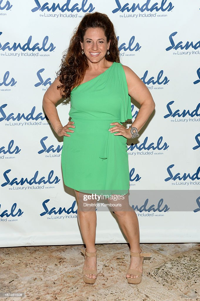 Actress Marissa Jaret Winokur attends the Gala Dinner and Awards during Day Three of the Sandals Emerald Bay Celebrity Getaway and Golf Weekend on September 29, 2013 at Sandals Emerald Bay in Great Exuma, Bahamas.