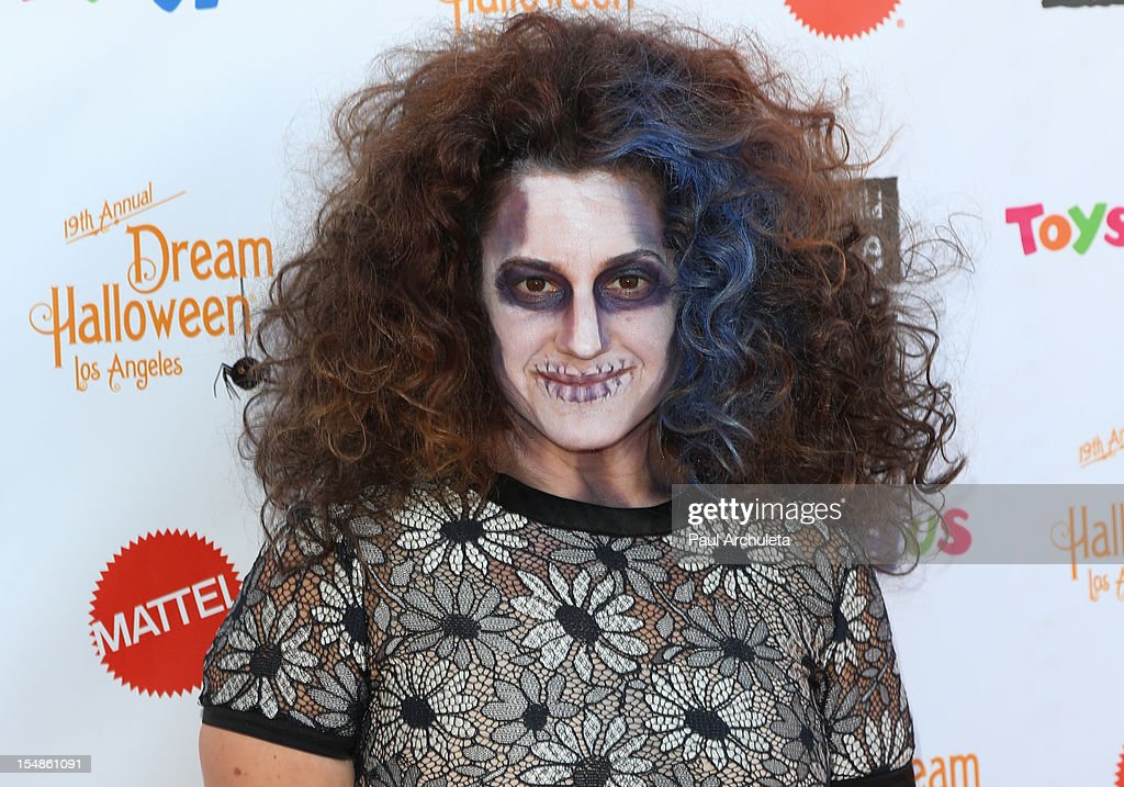 Actress Marissa Jaret Winokur attends the Keep A Child Alive 2012 Dream Halloween Los Angeles charity event at Barker Hangar on October 27, 2012 in Santa Monica, California.