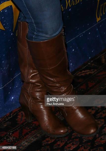Actress Marissa Jaret Winokur attends the opening night of 'Aladdin And His Winter Wish' at the Pasadena Playhouse on December 11 2013 in Pasadena...