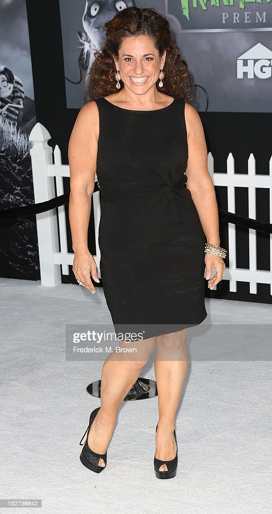 Actress Marissa Jaret Winokur attends the Premiere Of Disney's 'Frankenweenie' at the El Capitan Theatre on September 24, 2012 in Hollywood, California.
