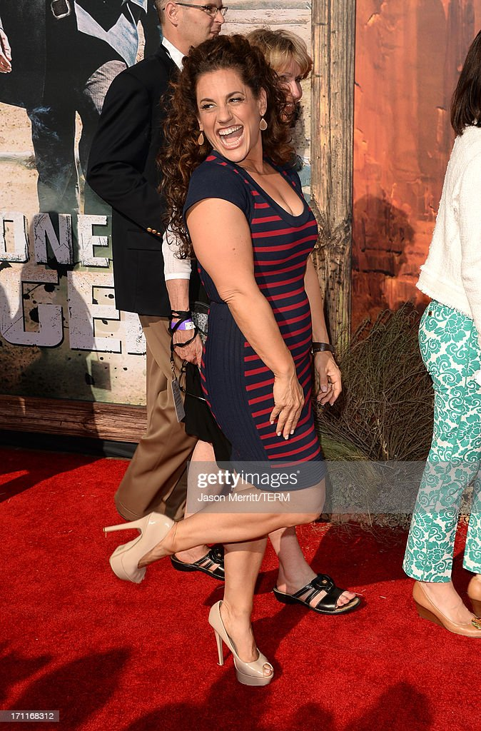 Actress Marissa Jaret Winokur attends the premiere of Walt Disney Pictures' 'The Lone Ranger' at Disney California Adventure Park on June 22, 2013 in Anaheim, California.