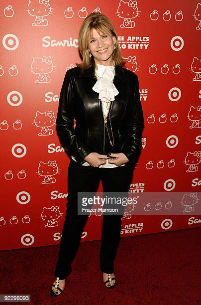 Actress Markie Post arrives at the Hello Kitty 35th anniversary celebration held at Royal/T on October 22 2009 in Culver City California