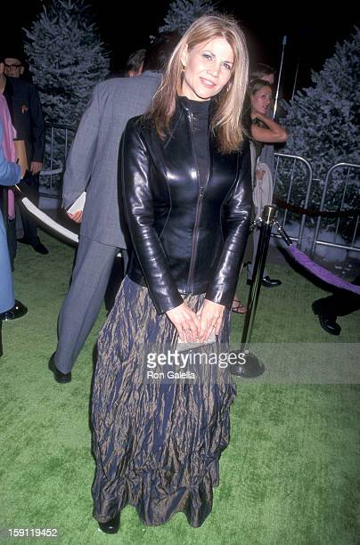 Actress Markie Post attends 'How the Grinch Stole Christmas' Universal City Premiere on November 8 2000 at Universal Amphitheatre in Universal City...
