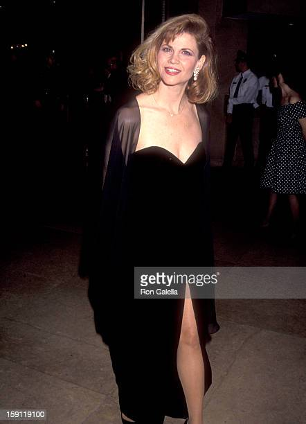 Actress Markie Post attends the 20th Annual American Film Institute Lifetime Achievement Award Salute to Sidney Poitier on March 12 1992 at Beverly...