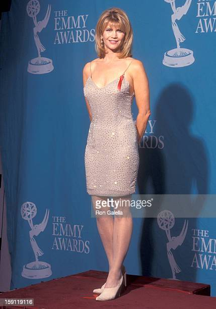 Actress Markie Post attends the 44th Annual Primetime Emmy Awards on August 30 1992 at Pasadena Civic Auditorium in Pasadena California
