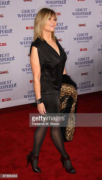 Actress Markie Post attends the 'Ghost Whisperer' 100th episode celebration at XIV on March 1 2010 in West Hollywood California