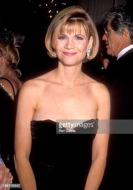 Actress Markie Post attends The Maple Center's 1990 Distinguished Community Service Award Honoring Carol and Jerry Katzman on October 10 1990 at...