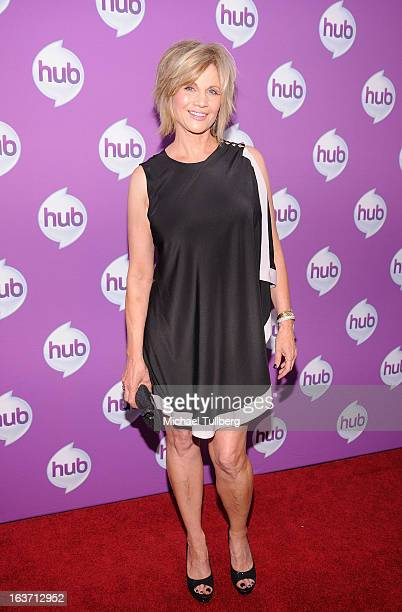 Actress Markie Post attends the premiere of Hub TV Network's 'Transformer's Prime Beast Hunters' at The Globe Theatre at Universal Studios on March...