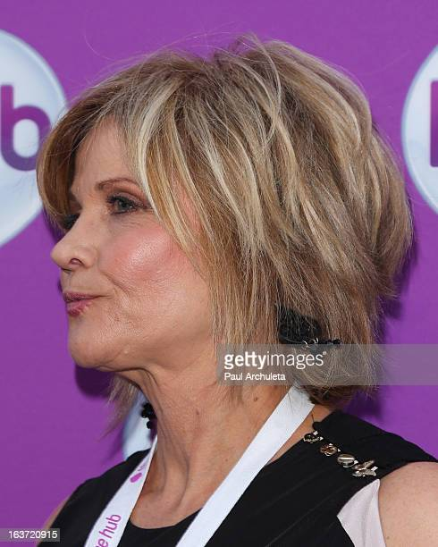 Actress Markie Post attends the Premiere of 'Transformer's Prime Beast Hunters' at The Globe Theatre at Universal Studios on March 14 2013 in...