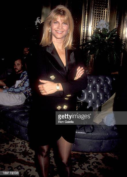 Actress Markie Post leaves the InterContinental Hotel on July 16 1992 in New York City
