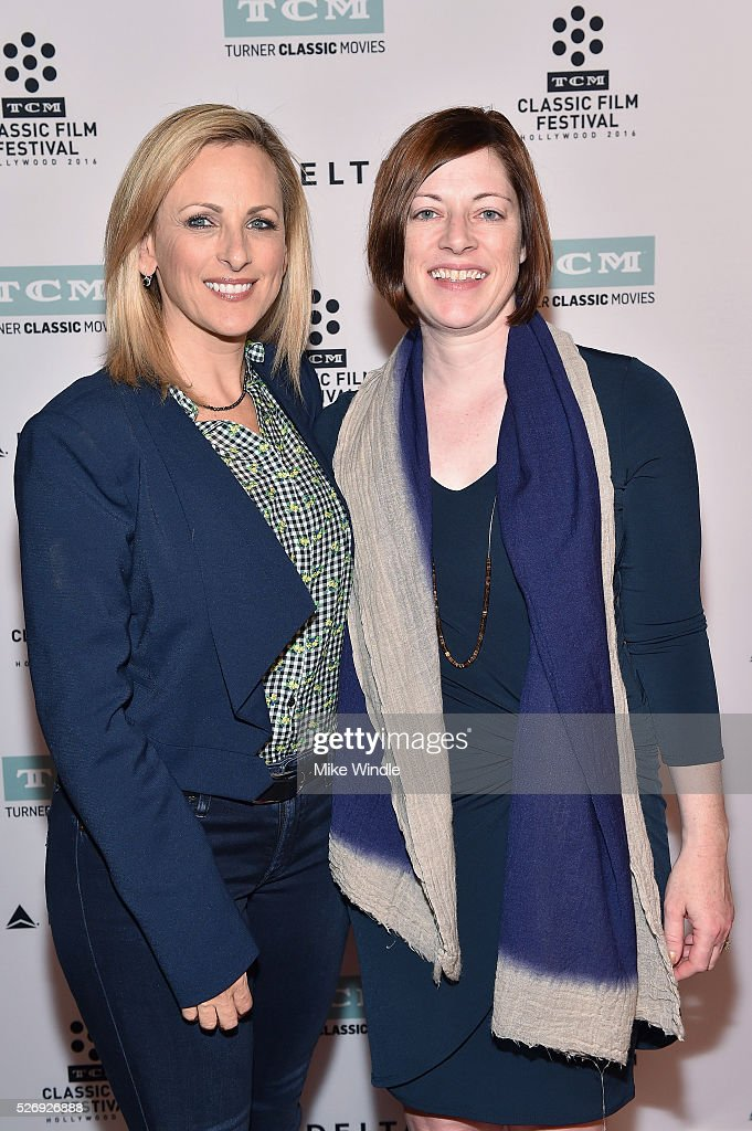 Actress Marlee Matlin (L) and Managing Director of TCM Classic Film Festival Genevieve McGillicuddy attend 'Children of a Lesser God' screening during day 4 of the TCM Classic Film Festival 2016 on May 1, 2016 in Los Angeles, California. 25826_008