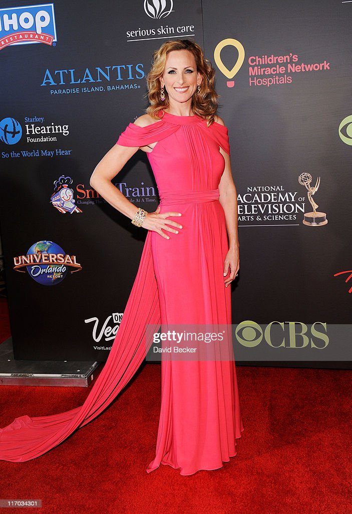 Actress Marlee Matlin arrives at the 38th Annual Daytime Entertainment Emmy Awards held at the Las Vegas Hilton on June 19, 2011 in Las Vegas, Nevada.
